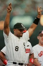 Albert Belle at the 1997 All-Star game