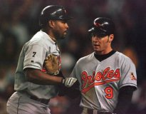 Albert Belle and Brady Anderson