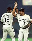 Albert Belle and Frank Thomas