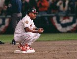Albert during the 1995 World Series